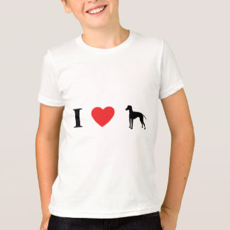 J'aime le T-shirt de terriers de Manchester