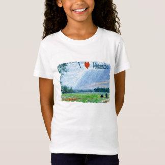 J'aime le T-shirt de Voronino (un village en