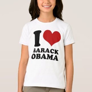J'aime le T-shirt d'enfants de Barack Obama