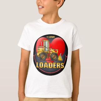 J'aime le T-shirt d'enfants de chargeurs
