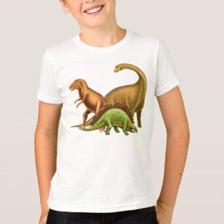 J'aime le T-shirt d'enfants de dinosaures