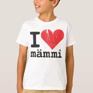 J'aime le T-shirt des enfants de Mämmi