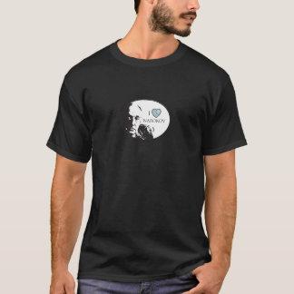 J'aime le T-shirt des femmes de Nabokov