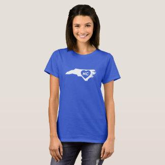 J'aime le T-shirt des femmes d'état de la Caroline