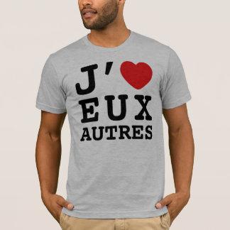 J'aime le T-shirt d'Eux Autres (l'habillement