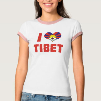 J'aime le T-shirt du Thibet
