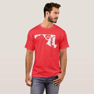 J'aime le T-shirt foncé des hommes d'état du