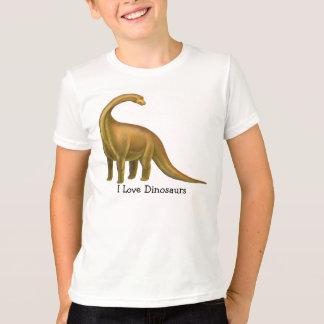 J'aime le T-shirt personnalisable d'enfants de