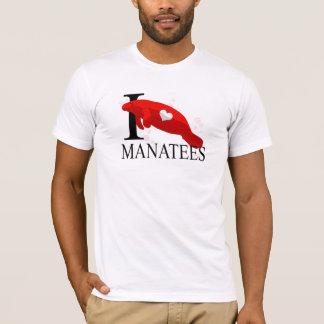 J'aime le T-shirts de lamantins