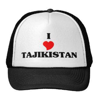 J'aime le Tadjikistan Casquette De Camionneur
