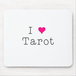 J'aime le tapis de souris de tarot