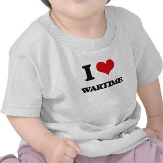 J'aime le temps de guerre t-shirts