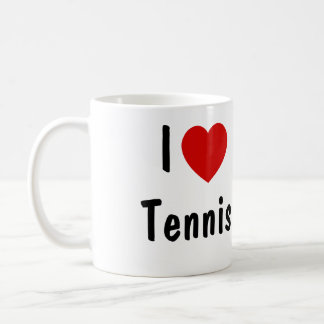J'aime le tennis mug
