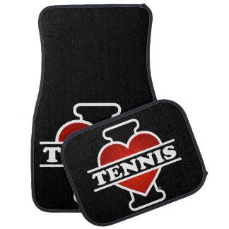 J'aime le tennis tapis de sol