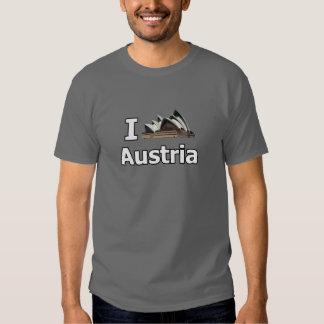J'aime l'échouer de touristes de l'Autriche T-shirts