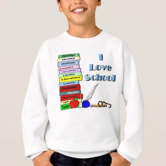 J'aime l'école sweatshirt
