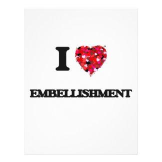 J'aime l'EMBELLISSEMENT Prospectus 21,6 Cm X 24,94 Cm