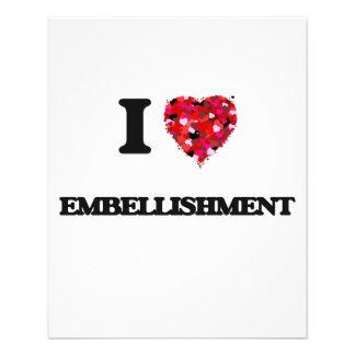 J'aime l'EMBELLISSEMENT Prospectus 11,4 Cm X 14,2 Cm