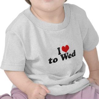 J'aime l'épouser t-shirt