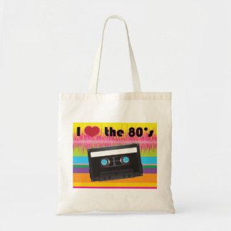 J'aime les années 80 Fourre-tout Sac De Toile
