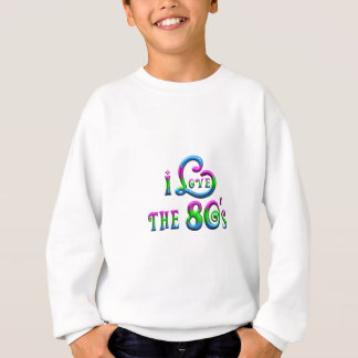 J'aime les années 80 sweatshirt