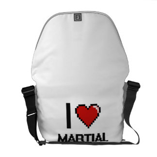 J'aime les artistes martiaux sacoche