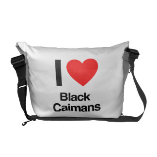 j'aime les caimans noirs sacoche