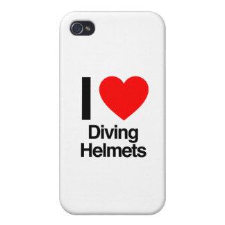 j'aime les casques de plongée coque iPhone 4