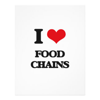 J'aime les chaînes alimentaires prospectus 21,6 cm x 24,94 cm