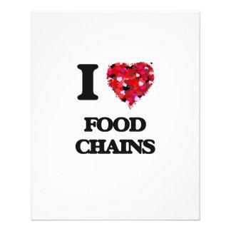 J'aime les chaînes alimentaires prospectus 11,4 cm x 14,2 cm