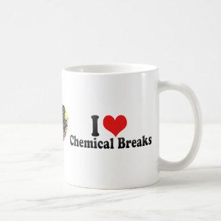 J'aime les coupures chimiques tasse