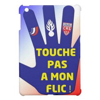 J'AIME LES FORCES DE L'ORDRE COQUE iPad MINI