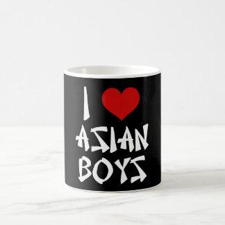 J'aime les garçons asiatiques mug