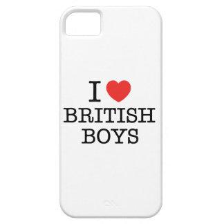 J'aime les garçons britanniques coque barely there iPhone 5