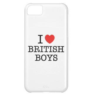J'aime les garçons britanniques coque iPhone 5C
