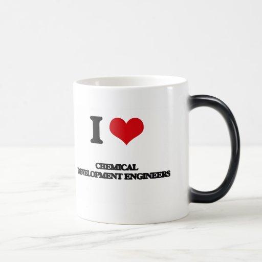 J'aime les ingénieurs de développement chimiques tasse à café