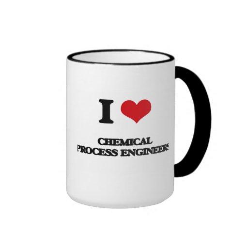 J'aime les ingénieurs des méthodes chimiques tasses