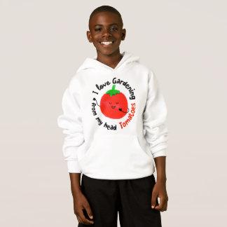 J'aime les tomates de jardinage - sweat - shirt à