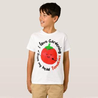 J'aime les tomates de jardinage - T-shirt