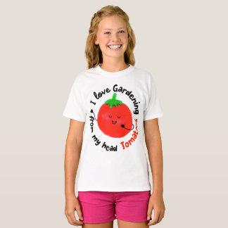 J'aime les tomates de jardinage - T-shirt de