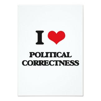 J'aime l'exactitude politique bristols personnalisés