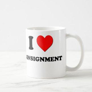 J'aime l'expédition mug
