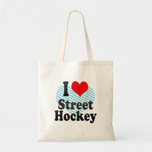 J'aime l'hockey de rue sacs