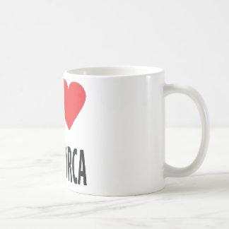 J'aime l'icône de Majorque Mug