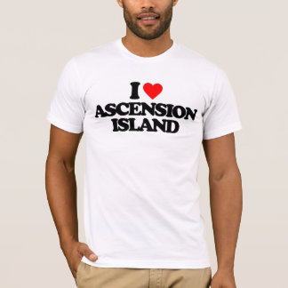 J'AIME L'ÎLE D'ASCENSION T-SHIRT