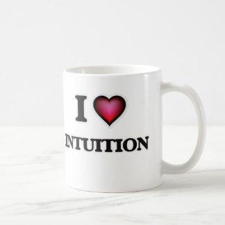 J'aime l'intuition mug