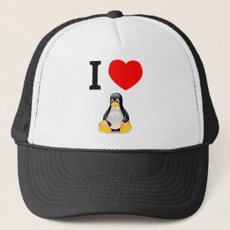 J'aime Linux Casquette