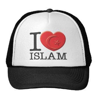 J'aime l'Islam Casquette Trucker