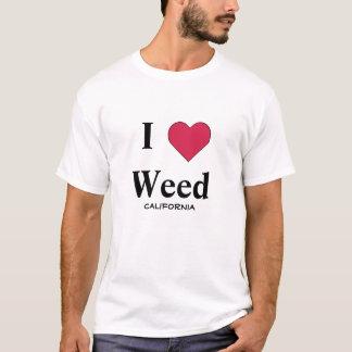 J'aime l'mauvaise herbe la Californie T-shirt