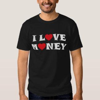 J'aime l'obscurité d'argent t-shirt